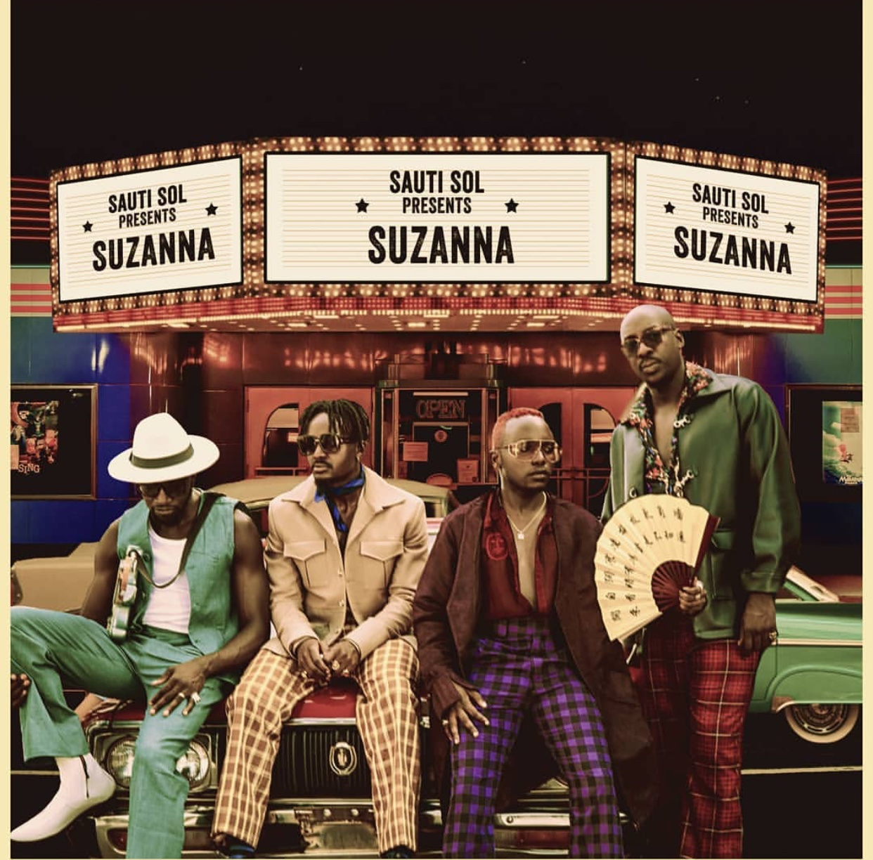Sauti Sol – Suzanna [Official Video]